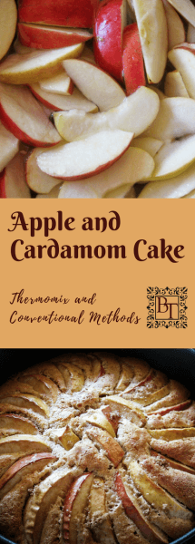 Apple and Cardamom cake | becs-table.com.au