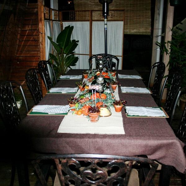 Medieval table setting | becs-table.com.au