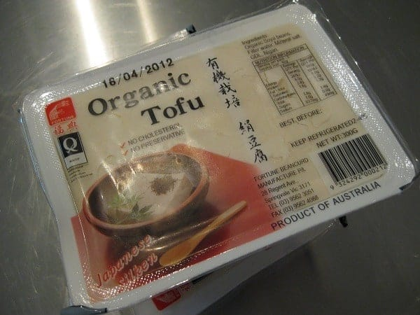 a box of silken Tofu