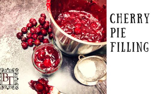 Cherry Pie Filling | becs-table.com.au