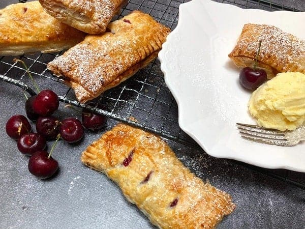 Hand pies with Cherry Pie filling