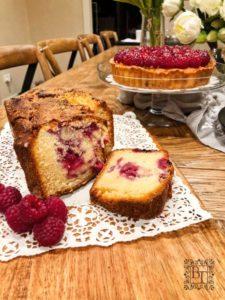 Thermomix raspberry loaf | becs-table.com.au