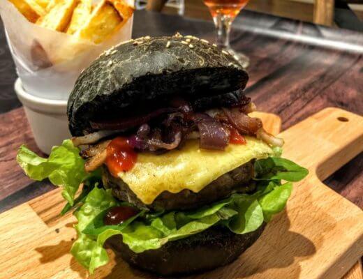 Thermomix Black Burger Buns | becs-table.com.au