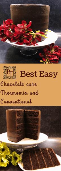 Thermomix Chocolate Cake   becs-table.com.au