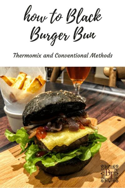 Black Burger Buns | becs-table.com.au