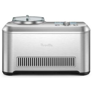 Front image of the Breville Smart scoop ice-cream maker