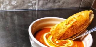 Smokey pumpkin soup