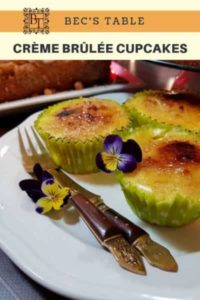 image of Creme brulee cupcakes for pinterest