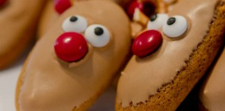 Image of rudolf Christmas Honey Jumbles recipe