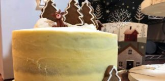 A recipe for Gingerbread Cake for Christmas